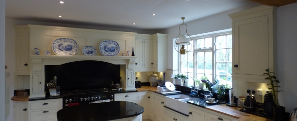 Bespoke kitchen design penn - hand painted wooden kitchen, Buckinghamshire