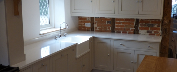 Hand painted kitchen Flamstead, Hertfordshire