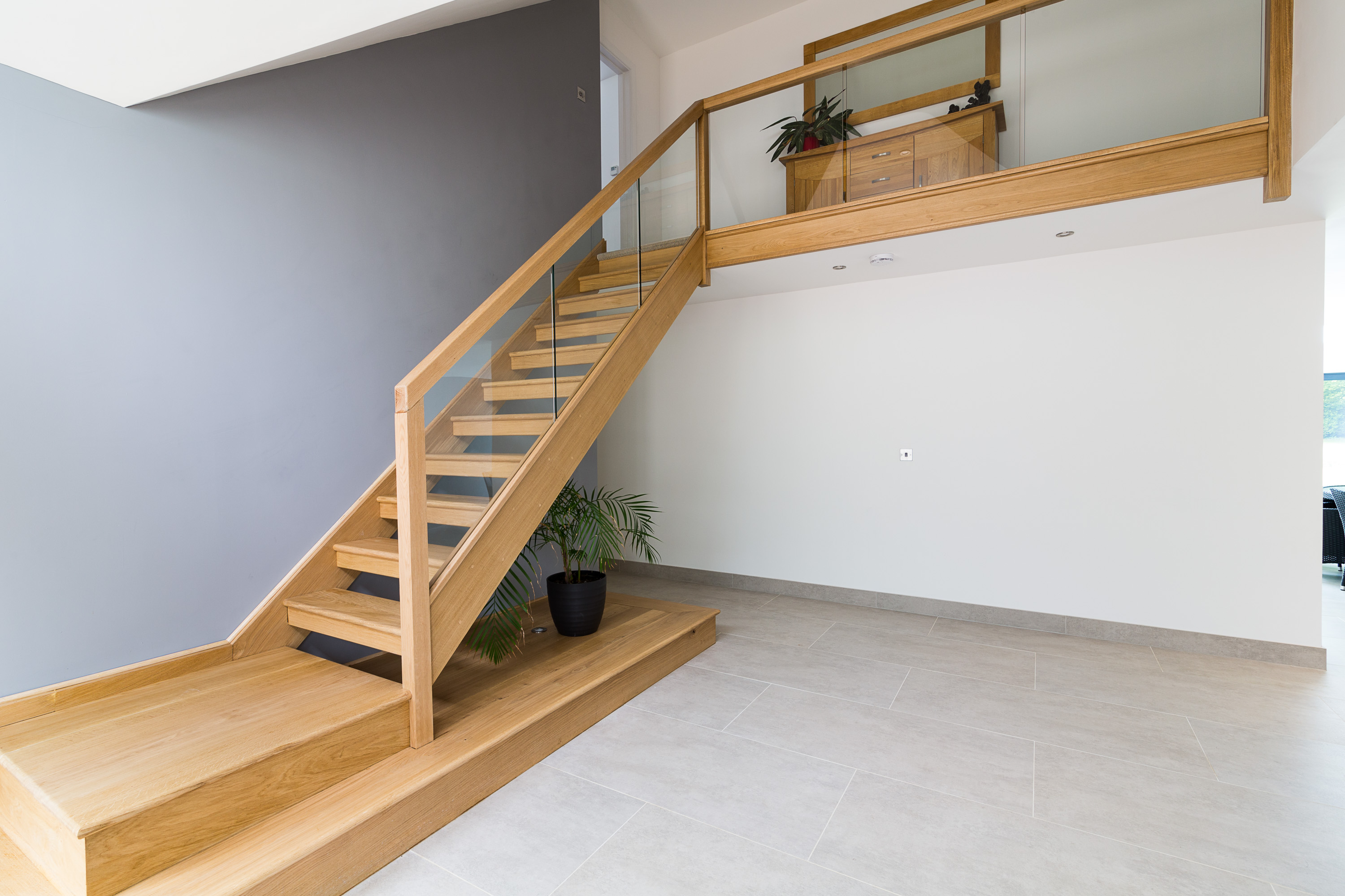 timber handmade staircase