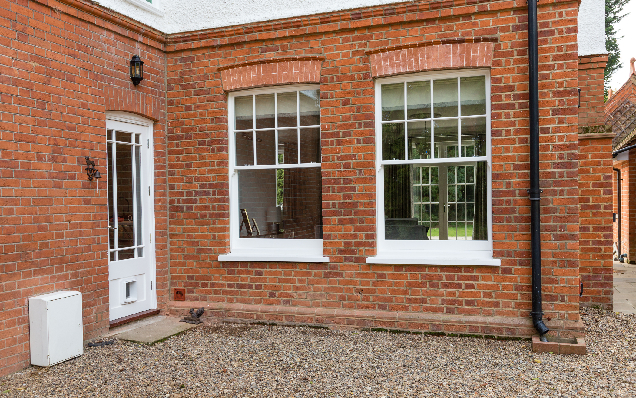 original timber box sash windows