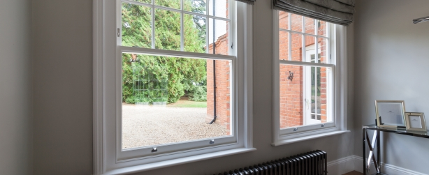 timber box sash windows